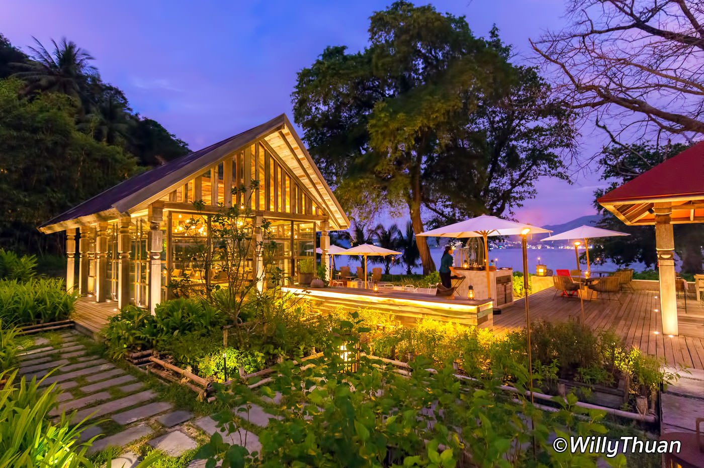 Ta Khai Is A Lovely Thai Restaurant Set Right By The Quiet And Romantic  Beach Of Tri Trang, Not Far From Patong Beach. This New Resort Is Very  Exclusive, ...