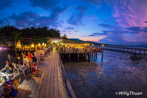 Laem Hin Seafood restaurant Phuket