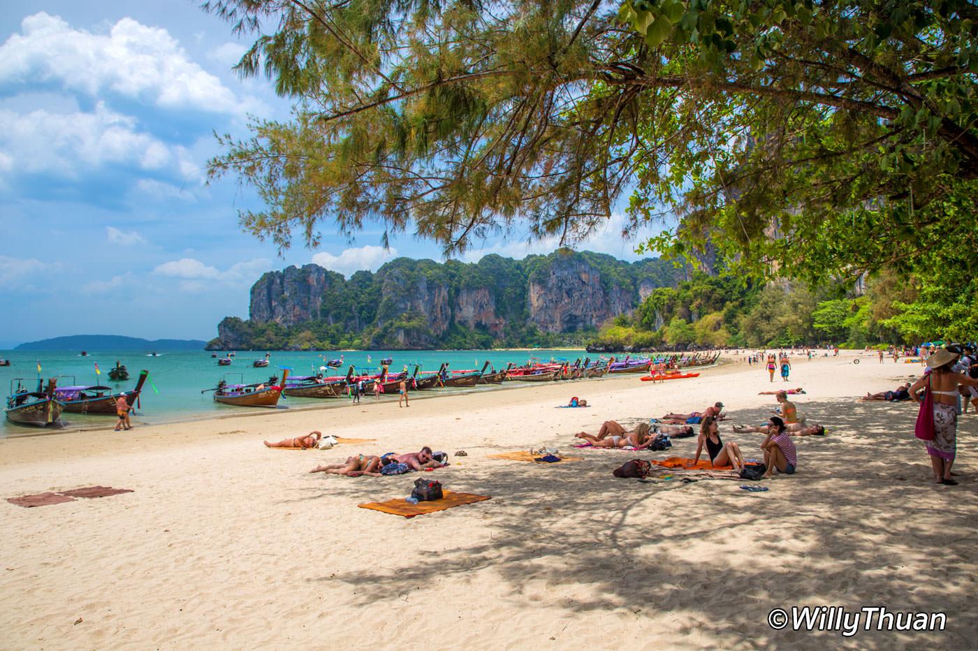 Railay Beach in Krabi, Thailand - PHUKET 101