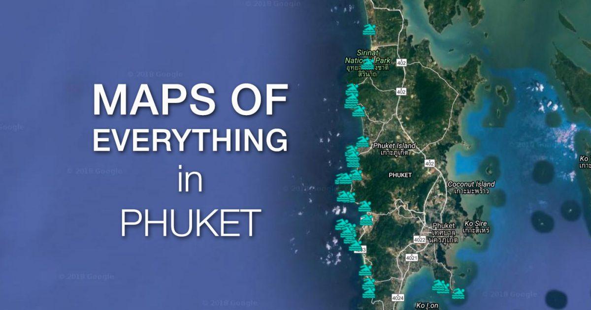 Phuket Maps
