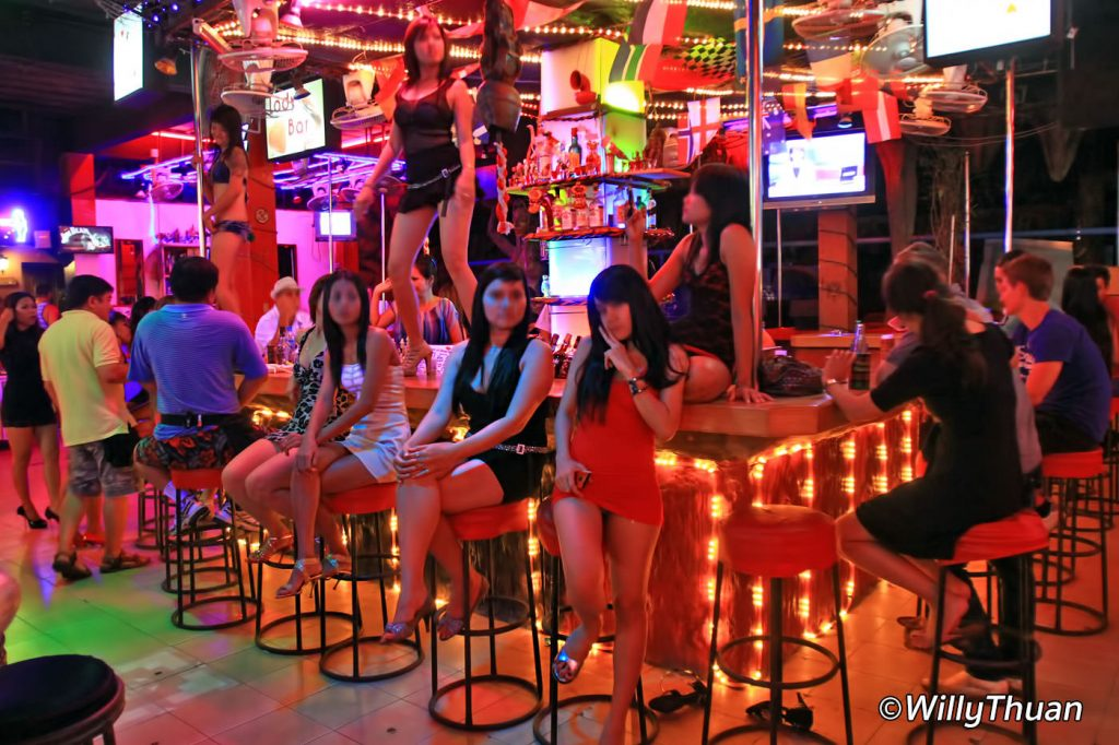 Beer bars in Patong
