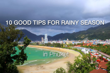 10 Tips to make the best of your holiday during the rainy season