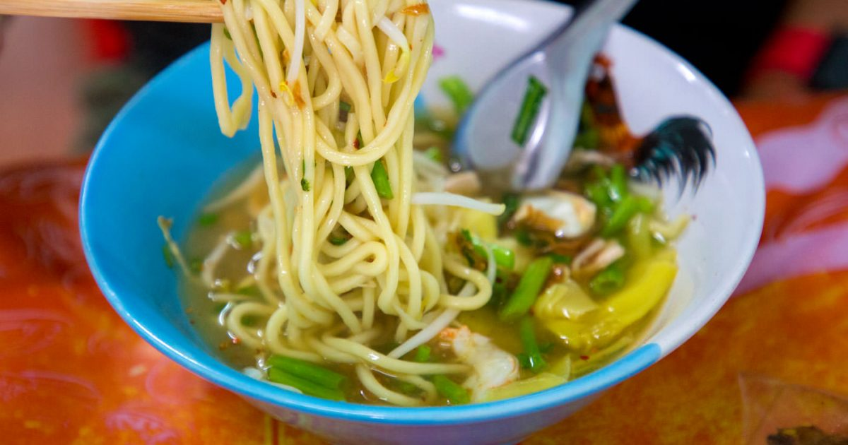Som Chit Hokkien Noodle Soup Phuket