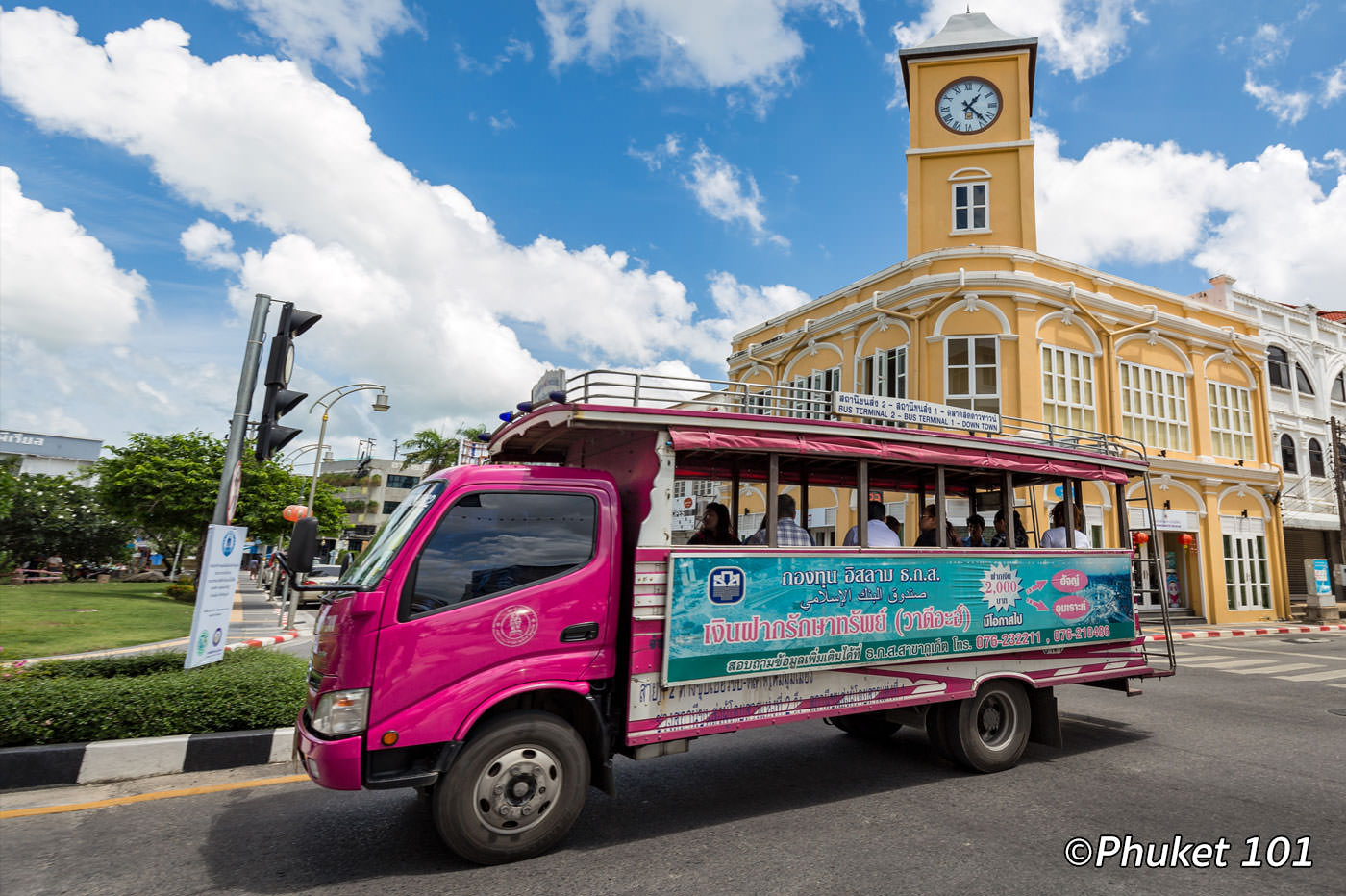 Phuket Smart Bus and Local Blue Bus