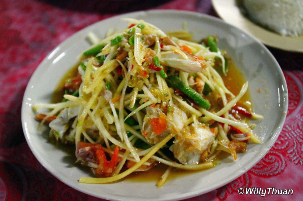 Som Tum at Nam Yoi Restaurant