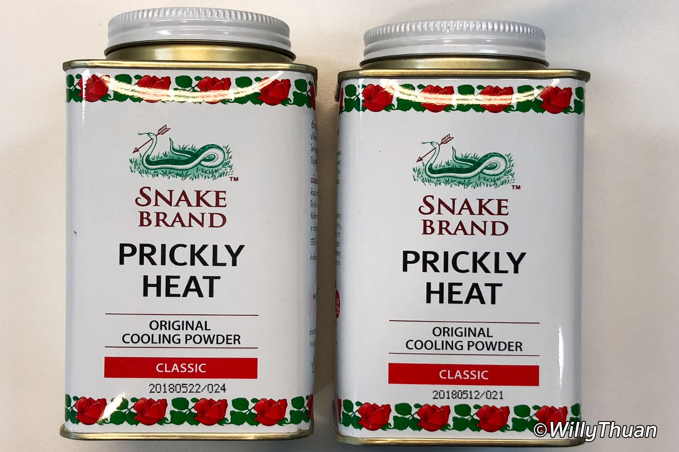 Prickly Heat Snake Brand