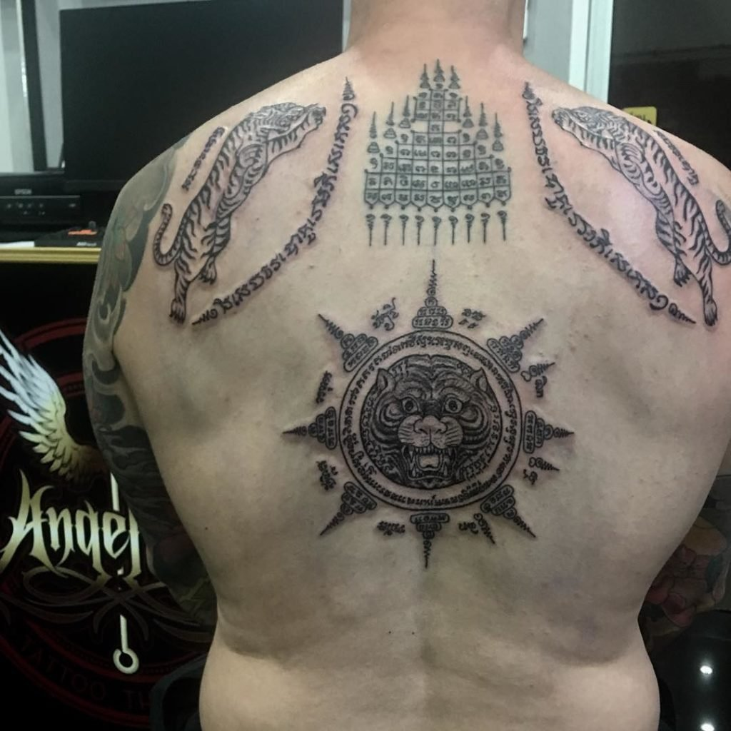Sak Yant Tattoo Phuket