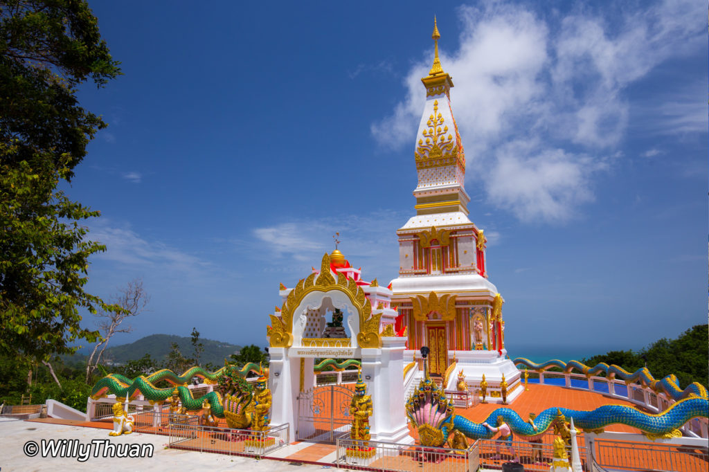 Wat Doi Thepnimit Temple above Patong