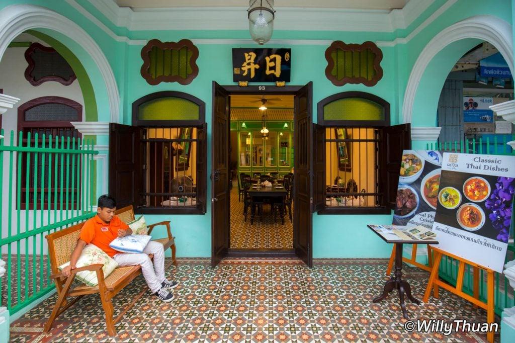 The Charm Restaurant in Phuket Town
