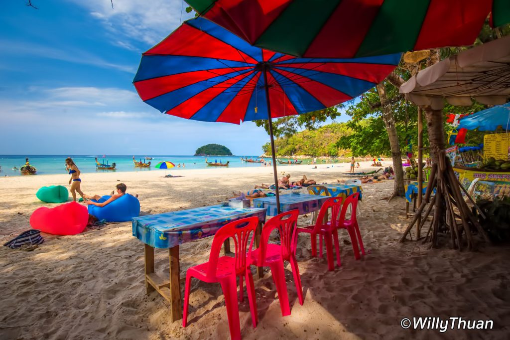 A beach restaurant in north Kata Beach