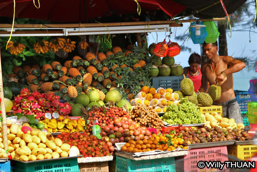 Tropical fruits in Phuket