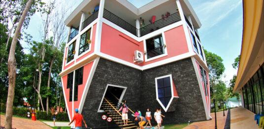 Baan Teelanka - Phuket Upside Down House