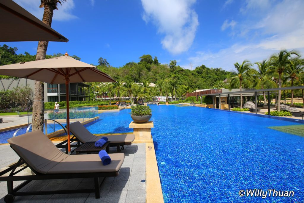 Swimming Pool at Marriott Nai Yang Phuket
