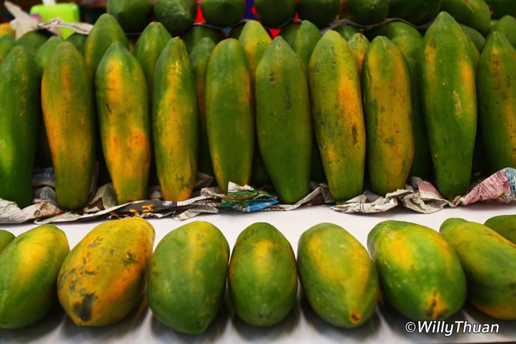 Papaya in Phuket