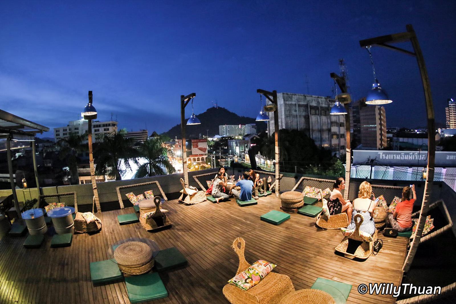 Quip Sky Bar Rooftop in Phuket Town