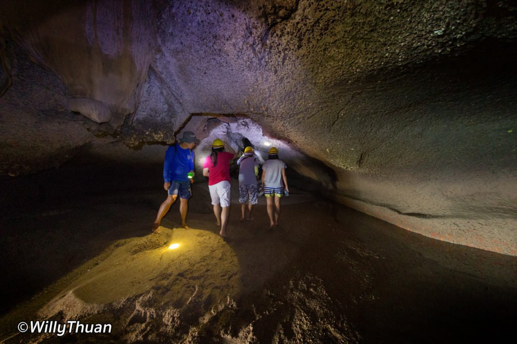 A cave in Koh Panak
