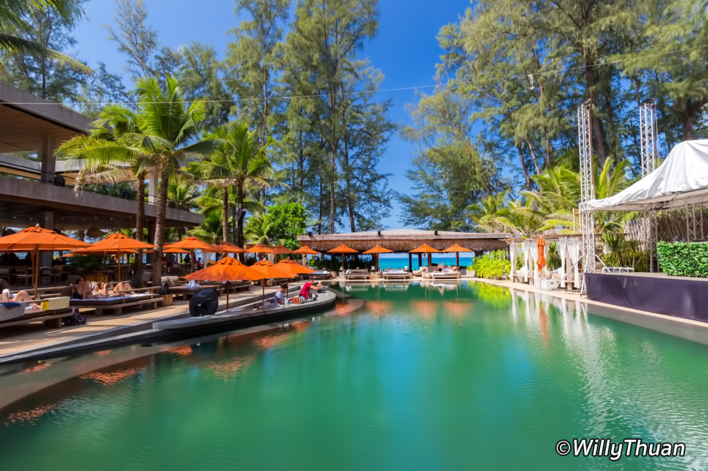 Swimming Pool at Cafe del Mar Beach Club Phuket