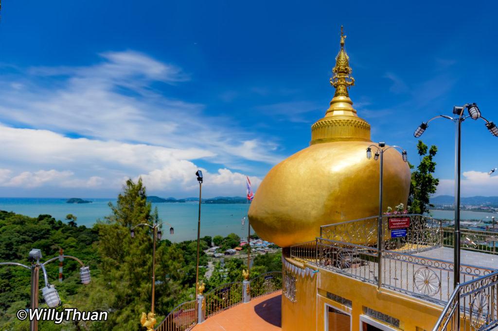 Wat Koh Sirey Golden Boulder