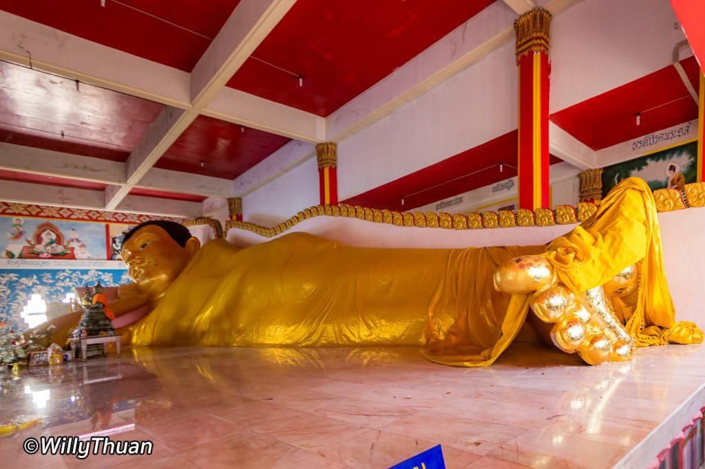 Wat Koh Sirey Reclining Buddha