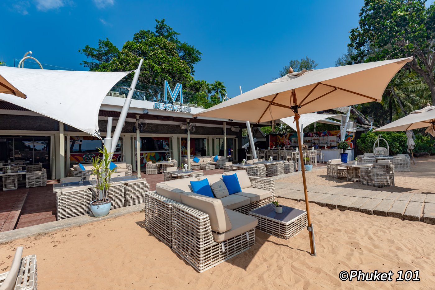 M Beach Club Phuket on Mai Khao Beach