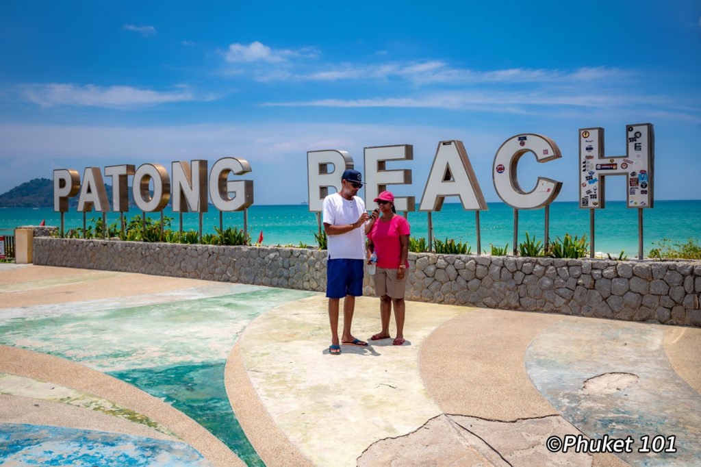 Instagram at Patong Beach Sign
