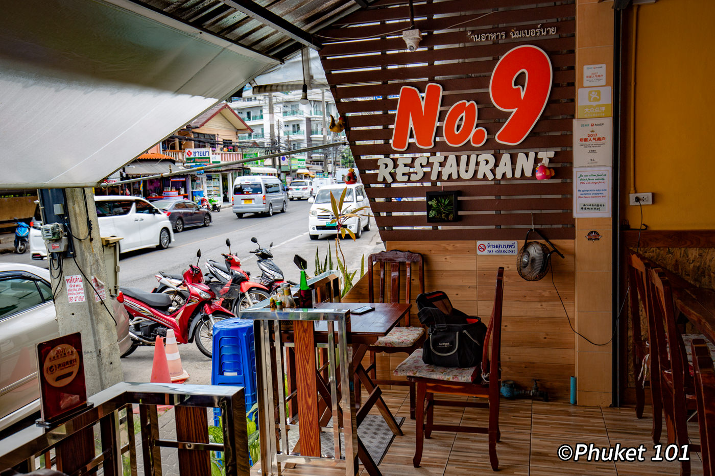 No9 Restaurant Patong Beach Phuket