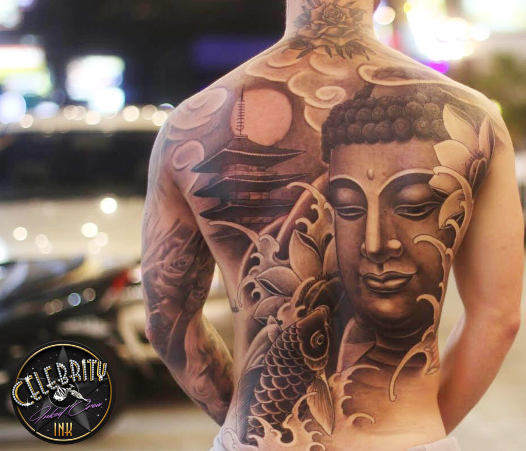 Celebrity Ink Tattoo Studio in Phuket, Thailand