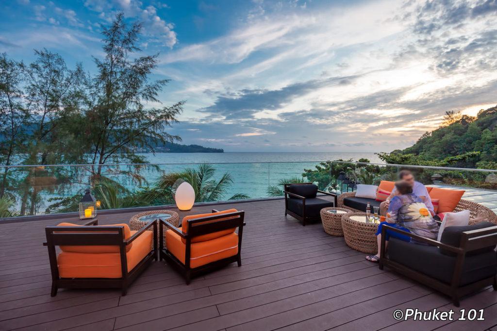 The rooftop at Novotel Kamala Resort Phuket