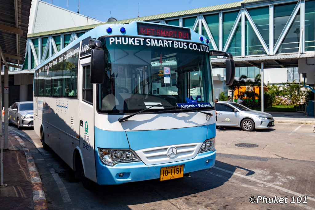 Smart Bus at Phuket International Airport