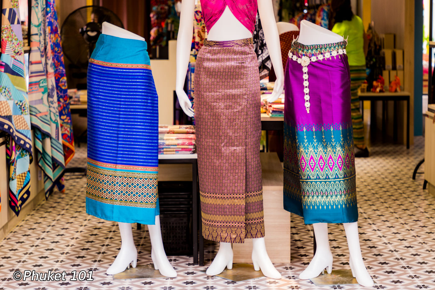 Thai Silk in Phuket
