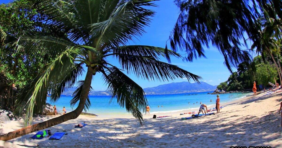 Paradise Beach in Phuket