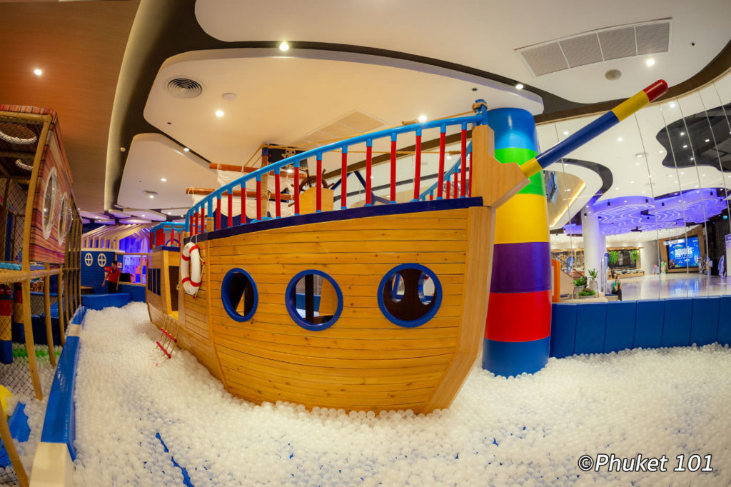 Pirate Ship at Happy Kids Club Phuket