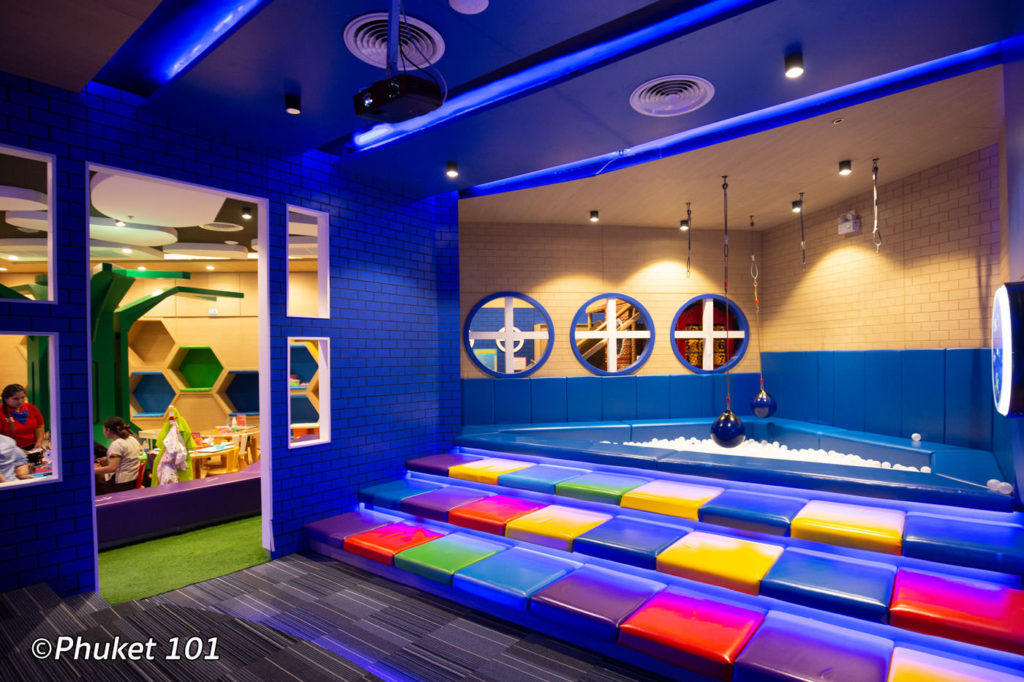 Aquarena Room at Happy Kids Club Phuket