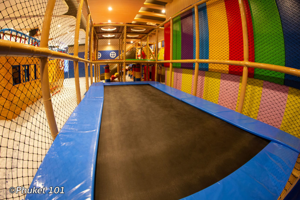 Zero Gravity Trampoline at Happy Kids Club Phuket