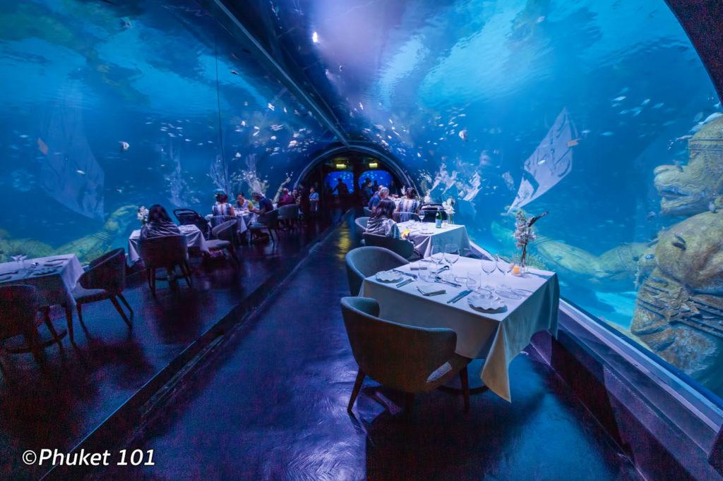 Andasi Restaurants at Aquaria