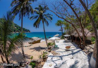 Nui Beach in Phuket, Thailand