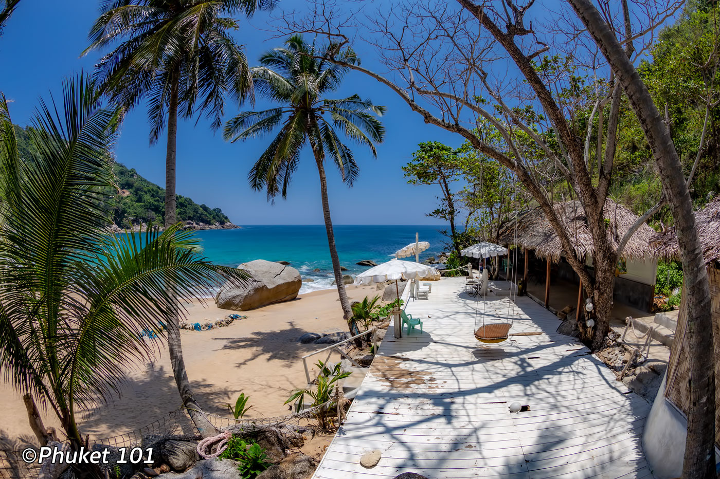 Nui Beach in Phuket, Thailand