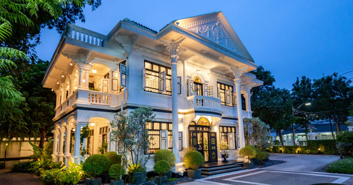 Thai restaurant in a heritage house in Phuket Town