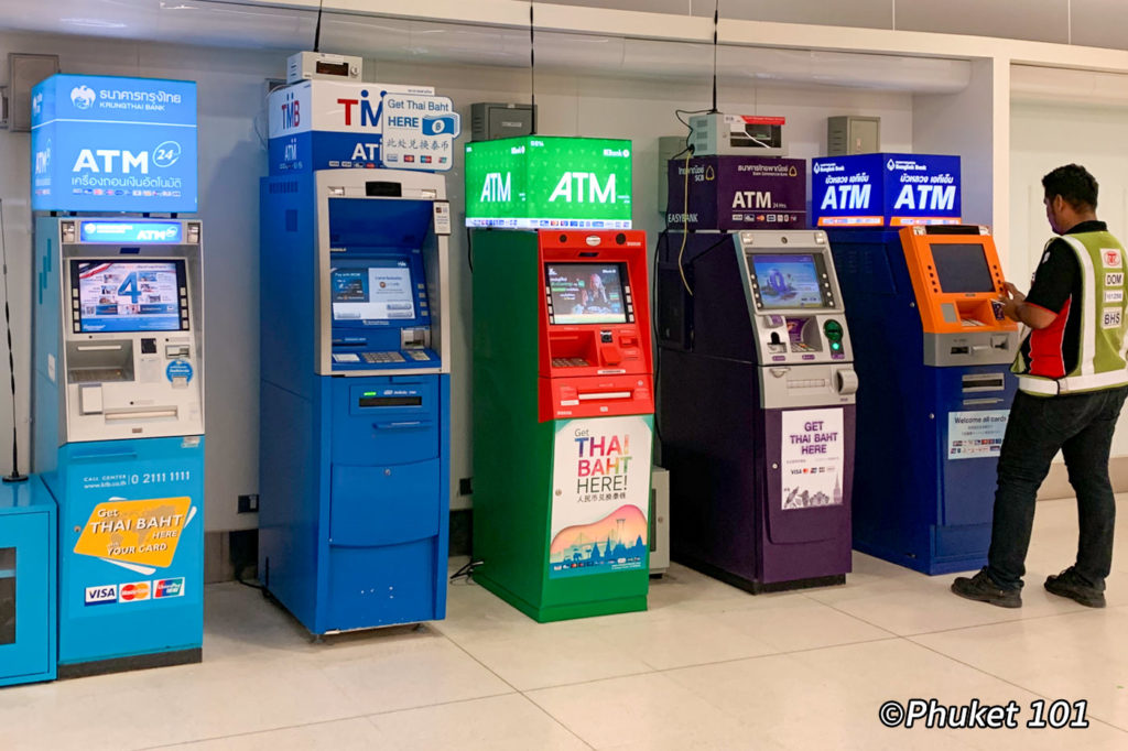 Money Changing at Phuket Airport