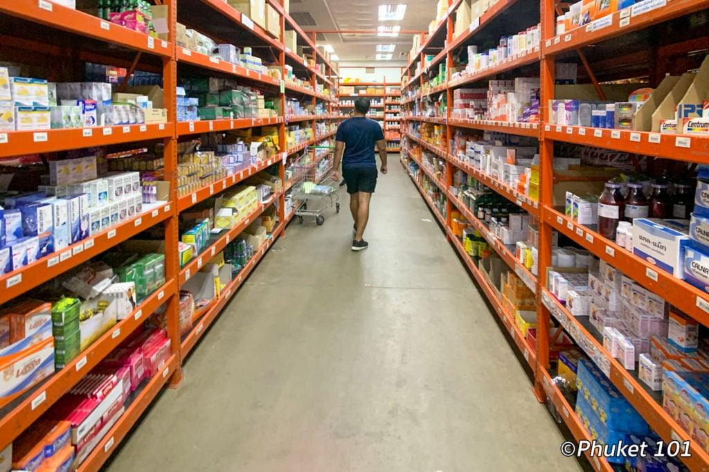 Super Cheap Drugstore in Phuket Town