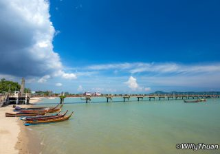 Phuket piers and ferries to the islands nearby