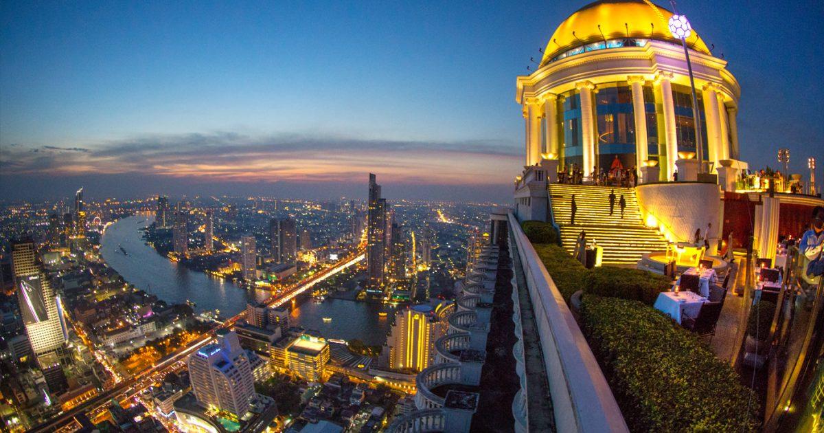 Sky Bar Rooftop at Lebua Bangkok