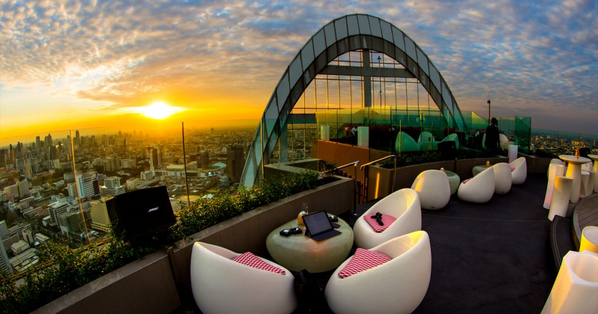CRU Rooftop Bar Bangkok