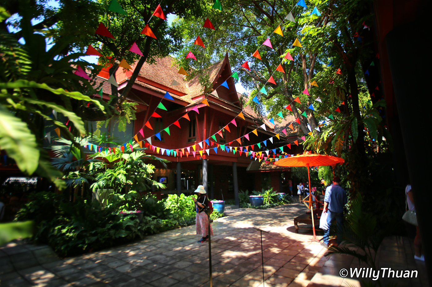 Jim Thompson House Museum in Bangkok