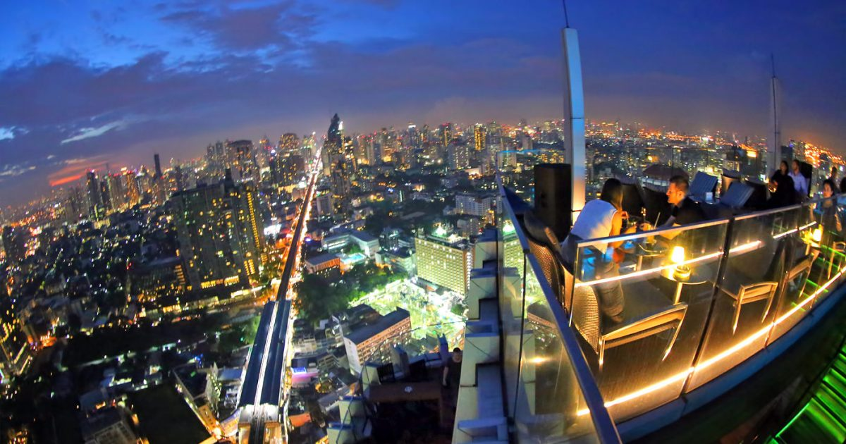 Octave Rooftop Bar Bangkok at Marriott Hotel Sukhumvit