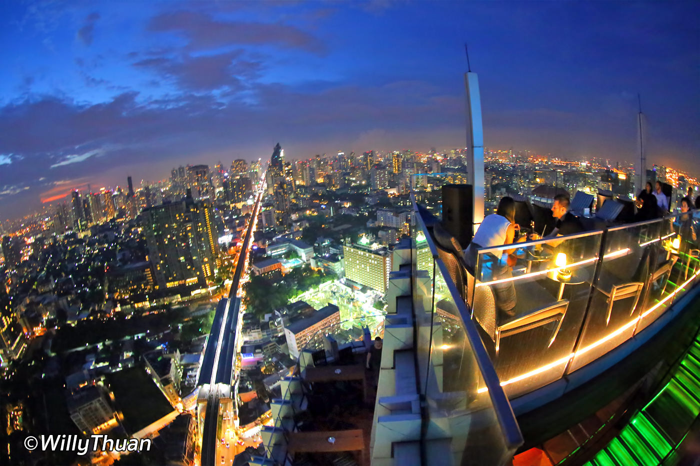 Octave Rooftop Bar Bangkok at Marriott Hotel Sukhumvit