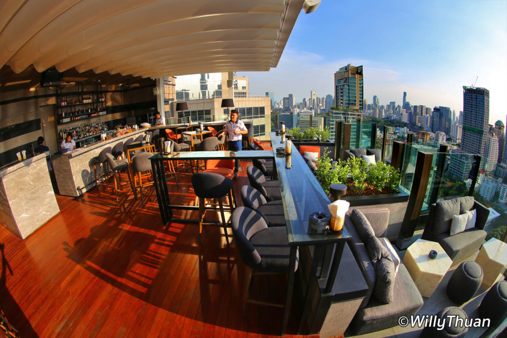 Char Rooftop Bar at Indigo Hotel Bangkok