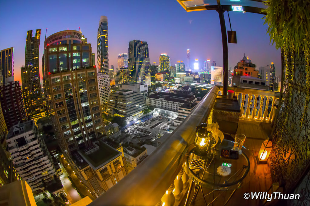 Speakeasy Rooftop Bar in Bangkok