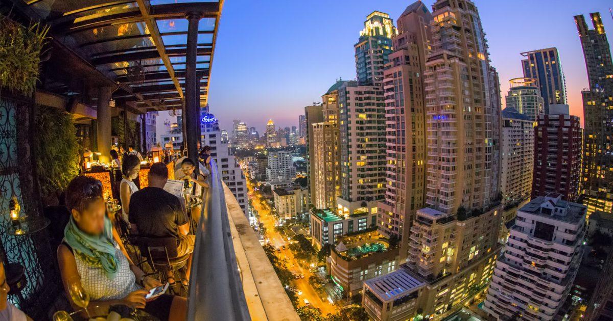 Speakeasy Rooftop Bar Bangkok at The Muse Hotel