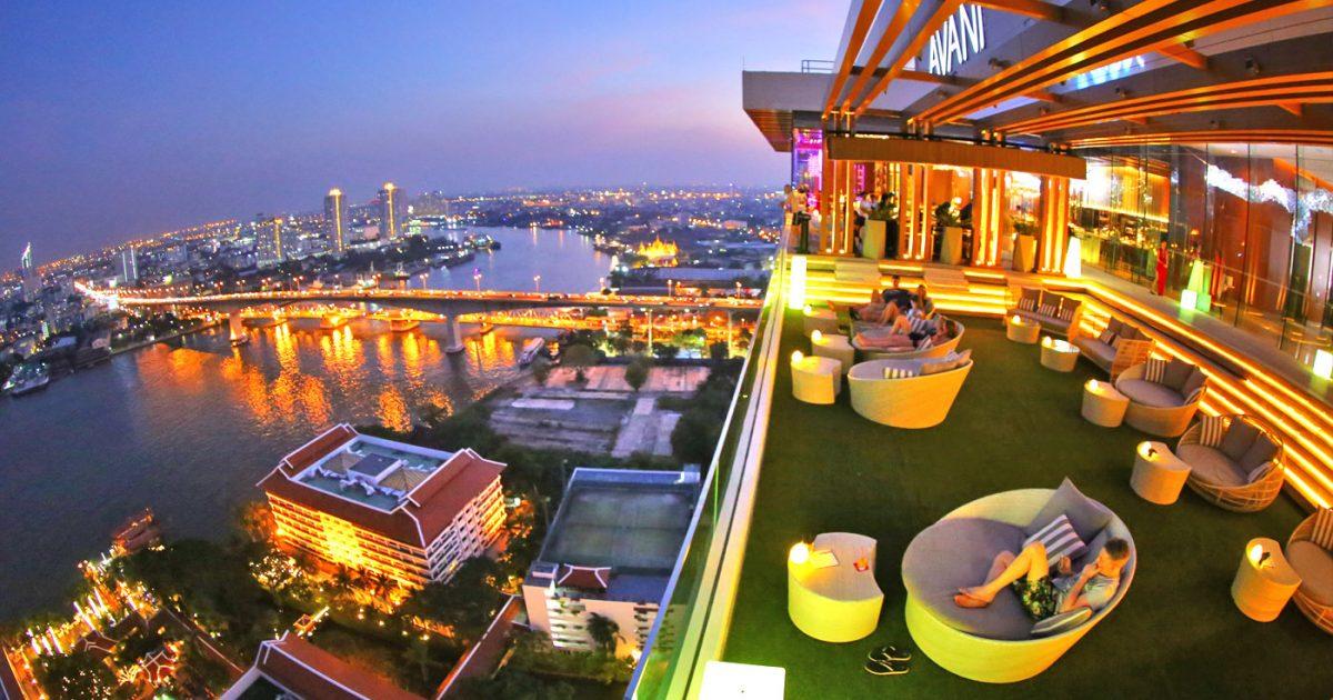 Seen Rooftop Bar at Avani Hotel Bangkok